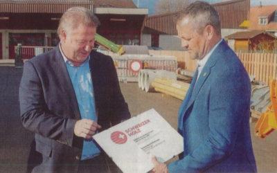 Auszeichnung für den Werkhof Matzingen