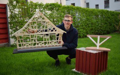 Modellausstellung Holzbau-Lernende 2019